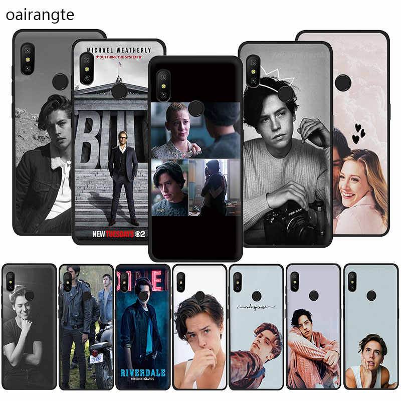 American TV Riverdale Series Cole Sprouse Design Soft TPU phone cover case for Redmi K20 4A 4X 5 6 5A 6A 7 Go Note 5 6 7 Pro