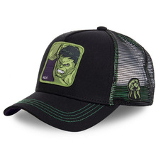 Superhero HULK Snapback Cap Cotton Baseball Cap Men Women Hi
