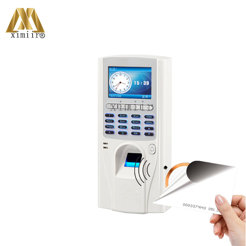 TCP/IP Biometric Fingerprint Access Control Systems Door Access Control With ID Card Reader Standalone Access Controller TFS-6 tcp ip biometric fingerprint time attendance and access control system 1000 users cheap price door access controller reader