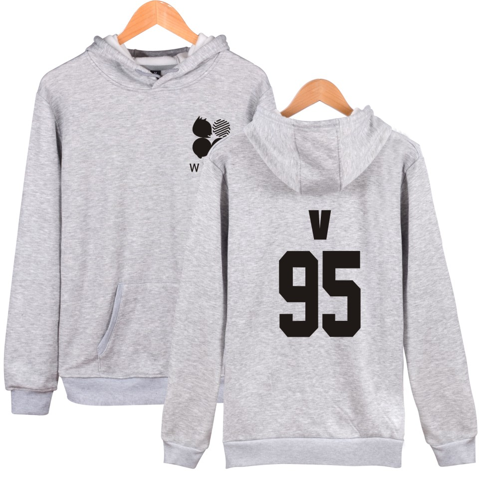 026cb7803c747 Aikooki Wings BTS Kpop Hooded Sweatshirt Women Cotton Korean Popular  Bangtan Mens Hoodie Tracksuit Sweat Coat Casual Sportswear-in Hoodies    Sweatshirts ...