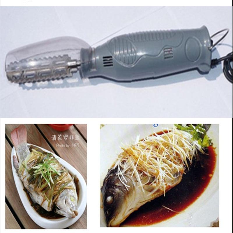 Electric fish scaler fish scale scraper tool electric fish scraper kitchen tools