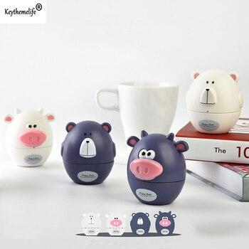 Dos desenhos animados de Cozinha Mecânica Temporizador Alarm Clock Disque Timers Cooking Contagem Regressiva Tempo Definido Lembrete de Cozinha Gadgets