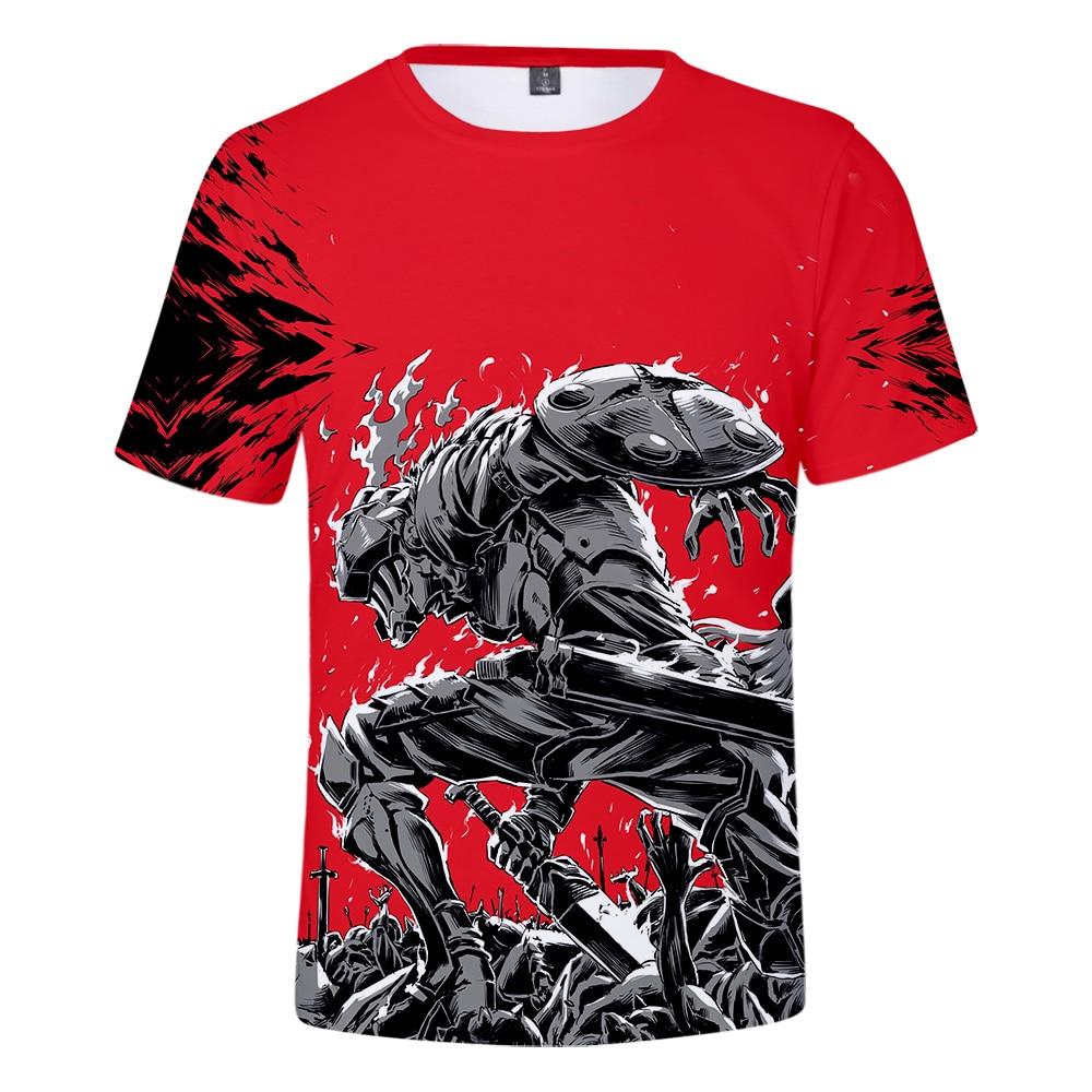 Casual 3D T-shirt Goblin Slayer Comic 2019 Hot Cool Summer New Men/Women Short Sleeve Fashion Tops Goblin Slayer Comic 3D Tees