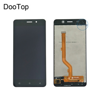 For Highscreen Power Rage EVO Black Gold Replacement Mobile Phone LCD Display Touch Screen Digitizer Tools