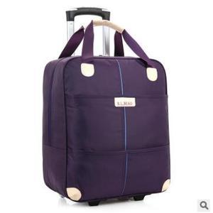 Image 5 - Новинка 2017, дорожная сумка на колесиках для женщин и мужчин, унисекс, сумка для багажа на колесах, дорожная сумка из ткани Оксфорд, дорожная сумка на колесах