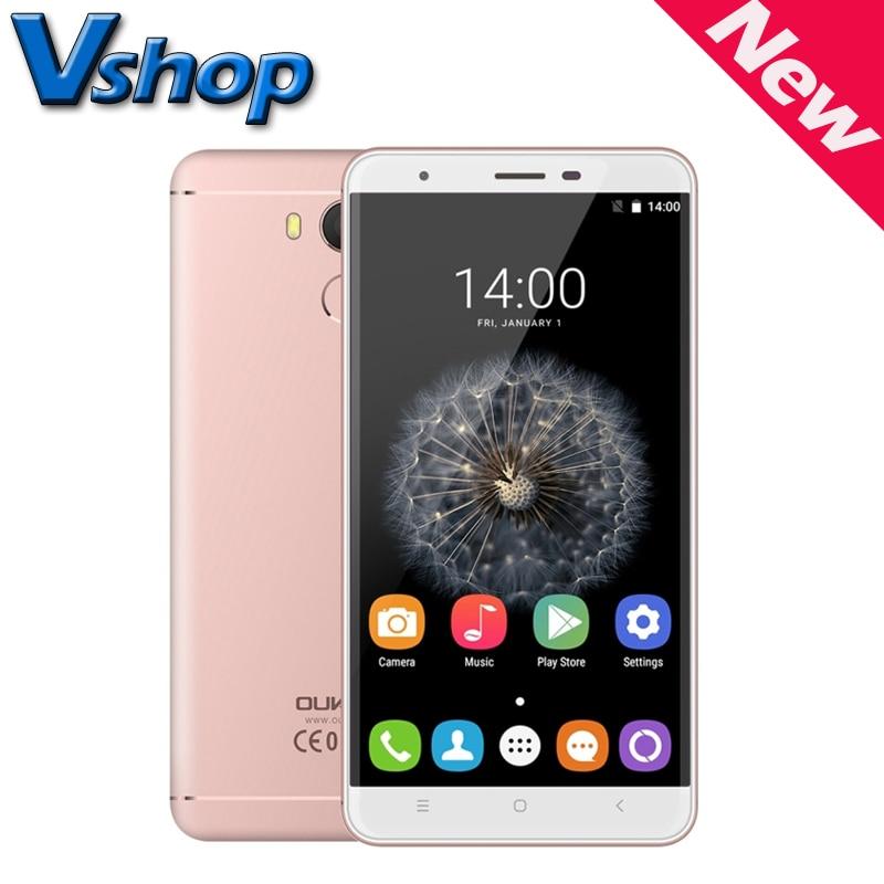 "OUKITEL U15 Pro 4G LTE Android 6.0 MTK6753 Octa Core 1.3GHz RAM 3GB ROM 32GB 2.5D Curved 5.5"" 16MP Smartphone OTG GPS"