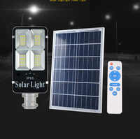 2 stuks 200w 300w Solar Licht Lampen Waterdicht op zonne-energie Outdoor Zonne Wandlampen Straat Licht Tuin Lamp afstandsbediening