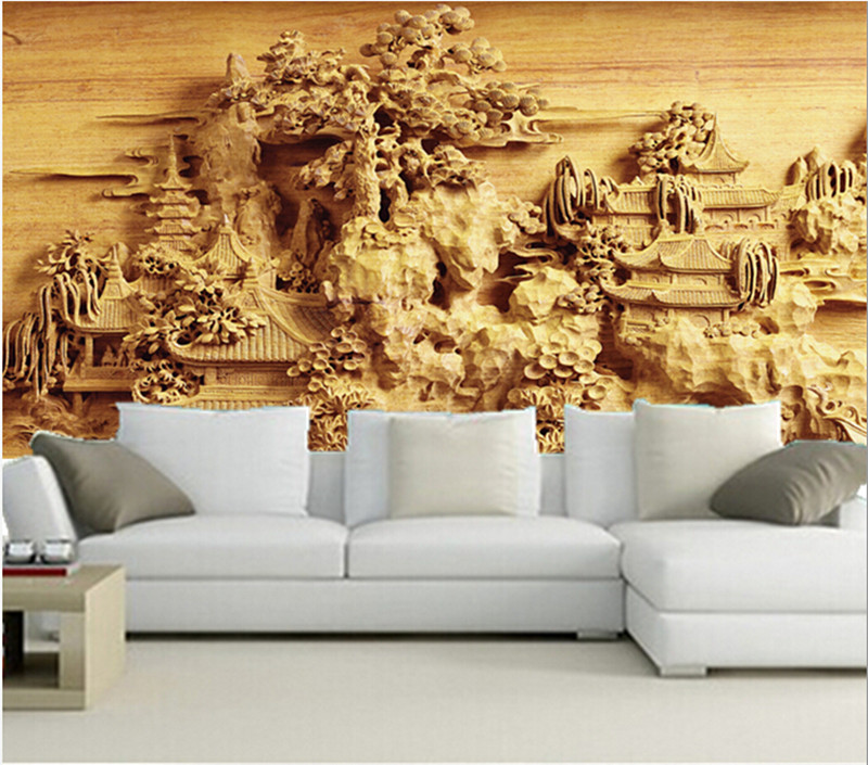 The latest 3D wallpaper,3D Chinese ancient garden wallpaper papel de parede,TV wall living room sofa wall bedroom wallpaper book knowledge power channel creative 3d large mural wallpaper 3d bedroom living room tv backdrop painting wallpaper