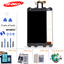 Sinbeda For HTC One X S720e LCD Sensor Touch S720e Screen Digitizer Full Assembly 4.7'' 1280*720 For HTC S720e Display Black цена в Москве и Питере