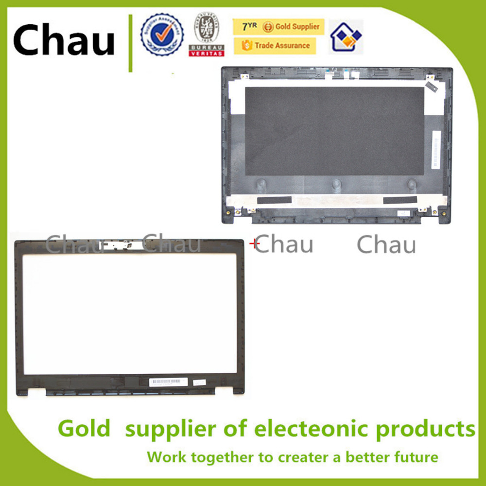 New For Lenovo Thinkpad T440P LCD Back Cover+Lcd Front Bezel Cover  04X5423  AP0SQ000100  04X5424 AP0SQ000200