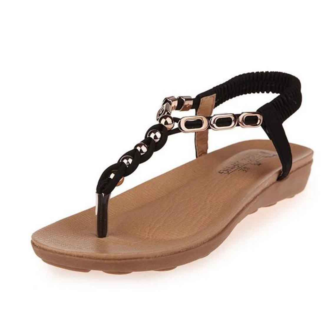 Woman 2017 New Summer Flat Sandals Ladies Summer Bohemia Beach Flip Flops Shoes Women Shoes Sandles Zapatos Mujer Sandalias 2017 women sandals new fashion bohemia style ankle strap flip flops summer flat shoes woman ladies shoes sandalias mujer d35m4