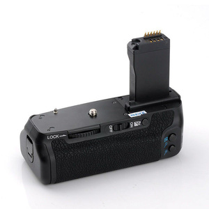 Image 5 - (مايكا) MK 760D الرأسي قبضة بطارية حامل لكانون 750D 760D LP E17 كما BG E18 ، بطارية الكاميرا مقبض لكانون 750D 760D
