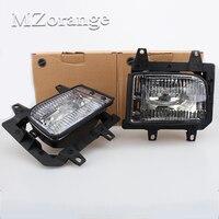 Pair Of Left Right Front Fog Light Transparent Plastic Lens Kit For BMW E30 3 Series