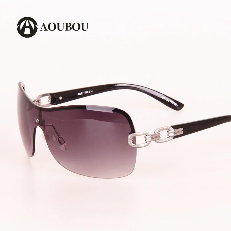 AOUBOU Luxury Rimless Sunglasses s