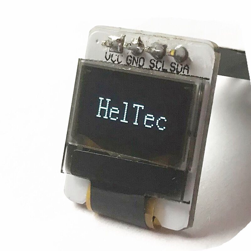 0.49 inch OLED Display Module IIC/I2C OLED Module 64*32 white SSD1306 3.3-5V For Arduino/51