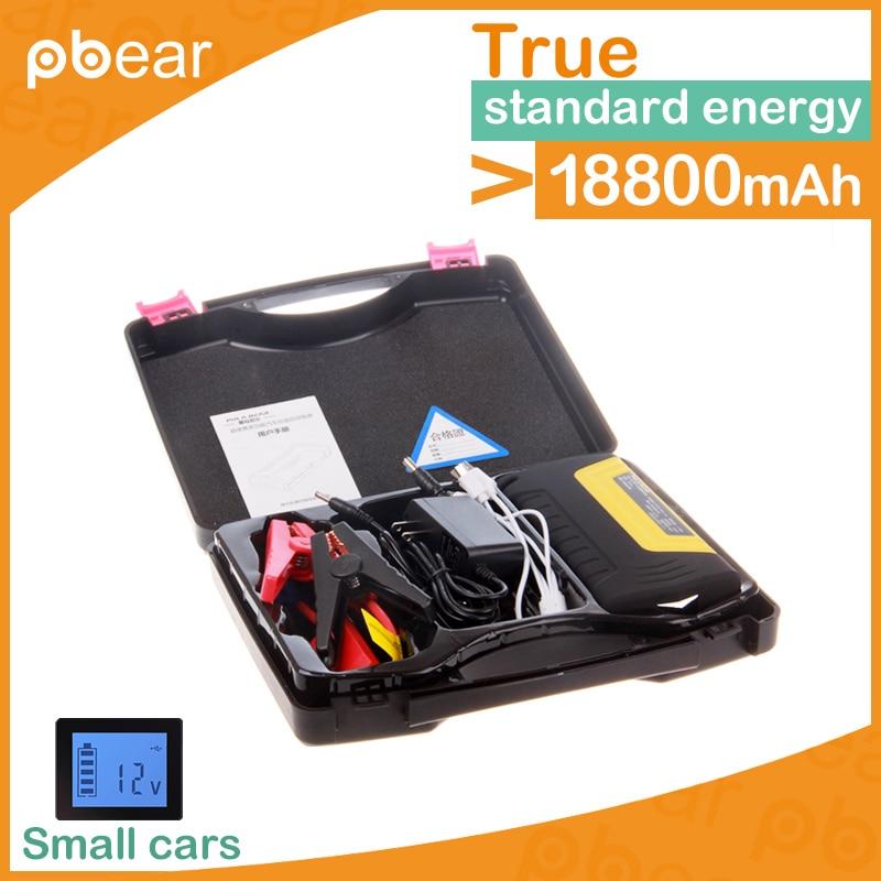 ФОТО Pbear Best Emergency Car Jump Starter for Petrol Car 12v Portable Jump Starter Power Bank/QA car charger safety hammer