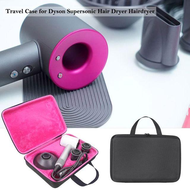 Récipient portatif de boîte cadeau de douille de sac de stockage de housse étui de transport de voyage pour le sèche cheveux supersonique