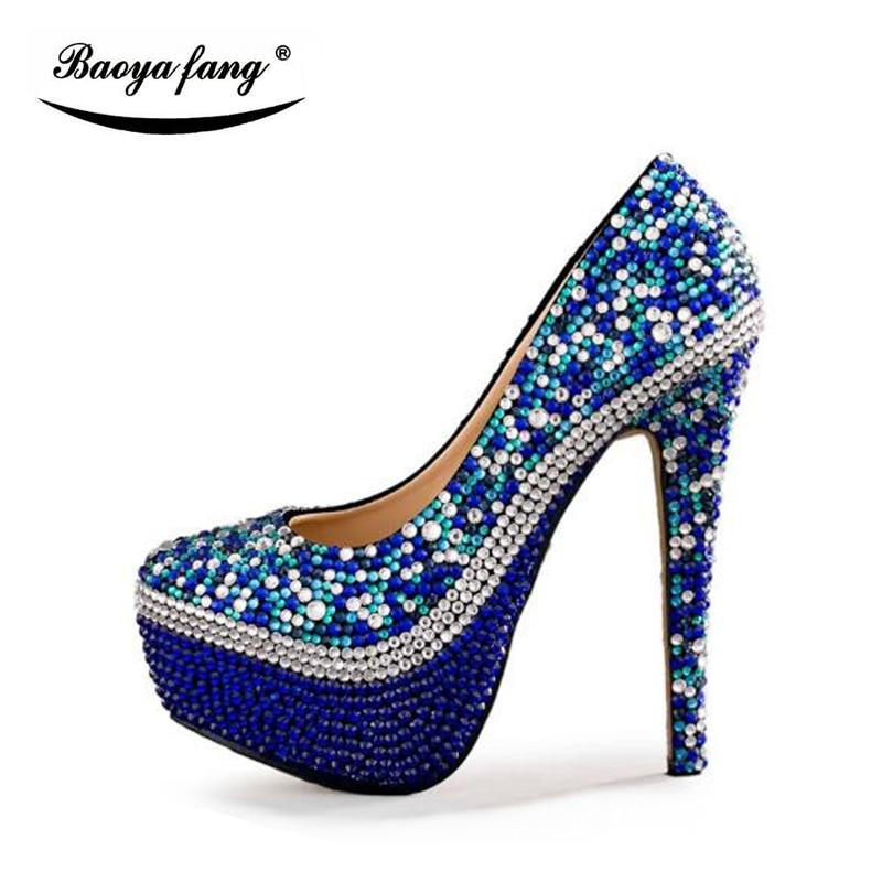Couture Heel Chaussures Partie De Shoesshoes Bag Haute 8cm Royal With Bag Bleu Shoe Sac Talons Heel Cyrstal Heel 14cm Assorti Robe 8cm 11cm Femmes Mariage Mode 14cm Pompes 11cm Ensembles Bag Et qgTExawTn6