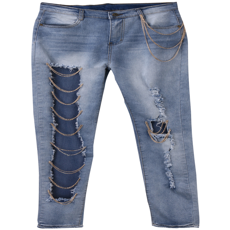 Skinny Ripped Jeans for Girls Promotion-Shop for Promotional ...