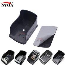 Водонепроницаемый чехол для Rfid металлическая клавиатура контроля доступа дождевик черный непромокаемый корпус контроллер доступа