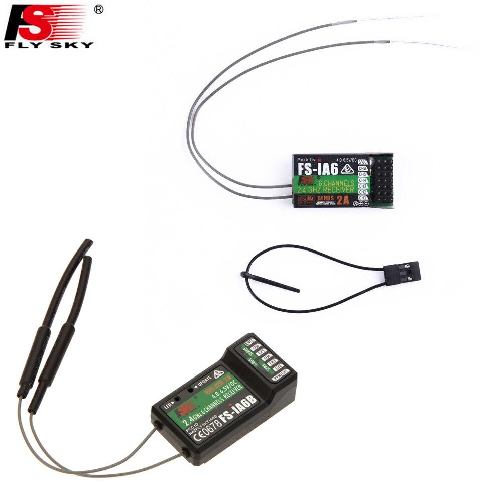 1pcs Original Flysky FS iA6 FS iA6B 6CH 6 Channel Remote
