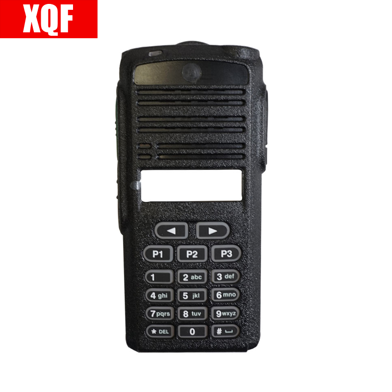 XQF  New Black Front Outer Case Housing Cover Shell For Motorola CP1660 Radio