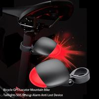 Anti Theft Device Bicycle GPS Locator Mountain Bike Taillights SOS Rescue Alarm Anti Lost Device Anti Theft Device