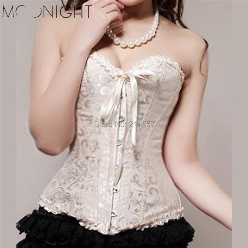 Hot Sale Plus Size Sleepwear Sexy Women Corset Tops Bustier shaper cincher Overbust waist training corset