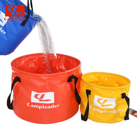 2016 New Brand Outdoor Camping Water Buckets 10L 30L Hiking Camping Folding Washing Foldable Water Buckets