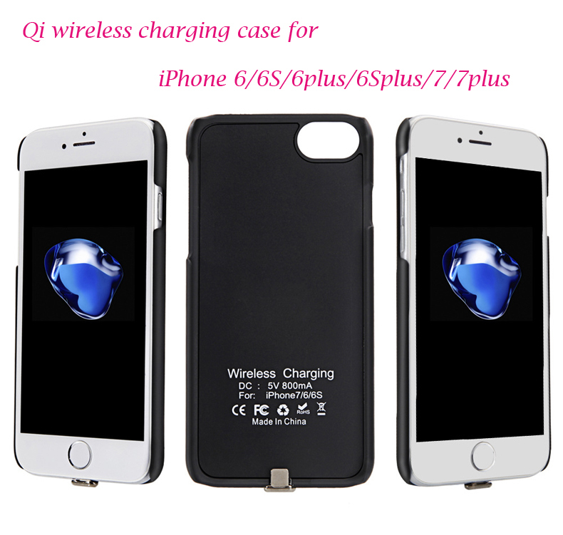 Recommend Universal QI Wireless Charging receiver case quick charging for iPhone 6 6S 6plus 6Splus 7