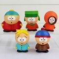 5 cm lindo South Park Mini PVC figuras de acción juguetes muñecas colectiva muñecas regalo para los niños
