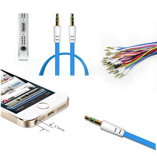 Tiptop Hot Sale 3.5mm Jack Male to Male Car Aux Auxiliary Cord Stereo Audio Cable for Phone for iPod SEP 5