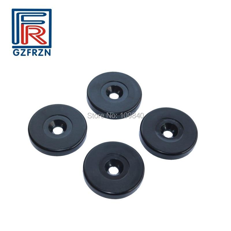 100pcs/lot 125khz TK4100 (EM4100) RFID ABS Anti Metal Patrol Point Tag Button Token Use On Metal Patrolling