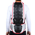 SALETU Motorcycle Back Protector Motorcycle Racing Riding Skating Armor Backpiece Waist Back Spine Protector M L