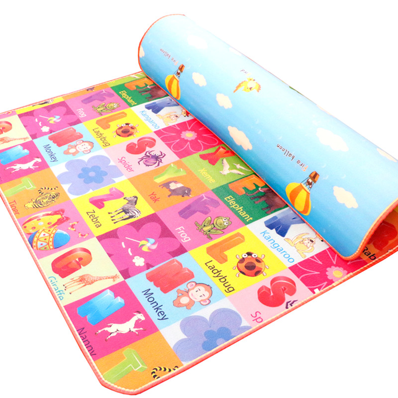 New 10 Mm Thickness Two Sides Soft Kids Play Mat Cute