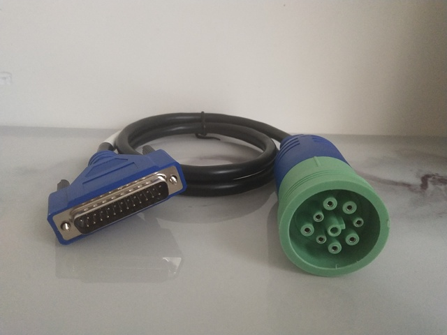 NEW 9pin Adapter Cable for New Holland Electronic CNH EST Service Tools CASE Diagnostic scanner