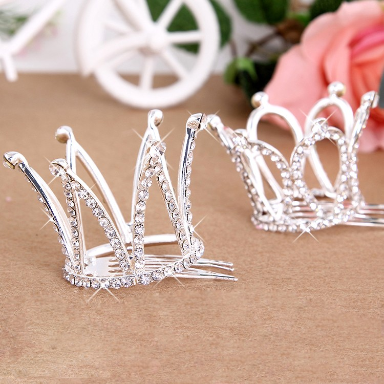 HTB1EDq4NXXXXXXPXXXXq6xXFXXXJ Dainty French Rhinestone Crystal Mini Tiara Hair Accessory For Girls/Women
