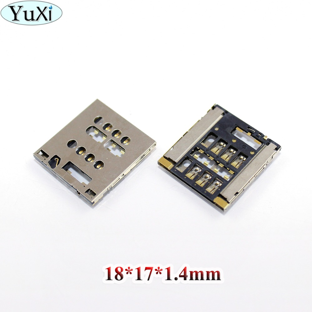 YuXi For Sony Xperia Acro S LT26W LT28i LT28h LT28 Sim Card Reader Holder Sim Slot Tray Replacement