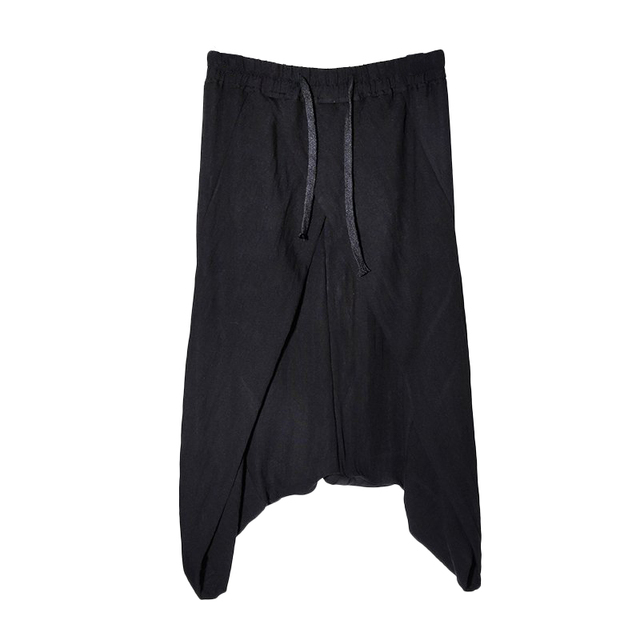 Basso Pantaloni Molto Cavallo Uomo Pantaloni bfg6Yy7