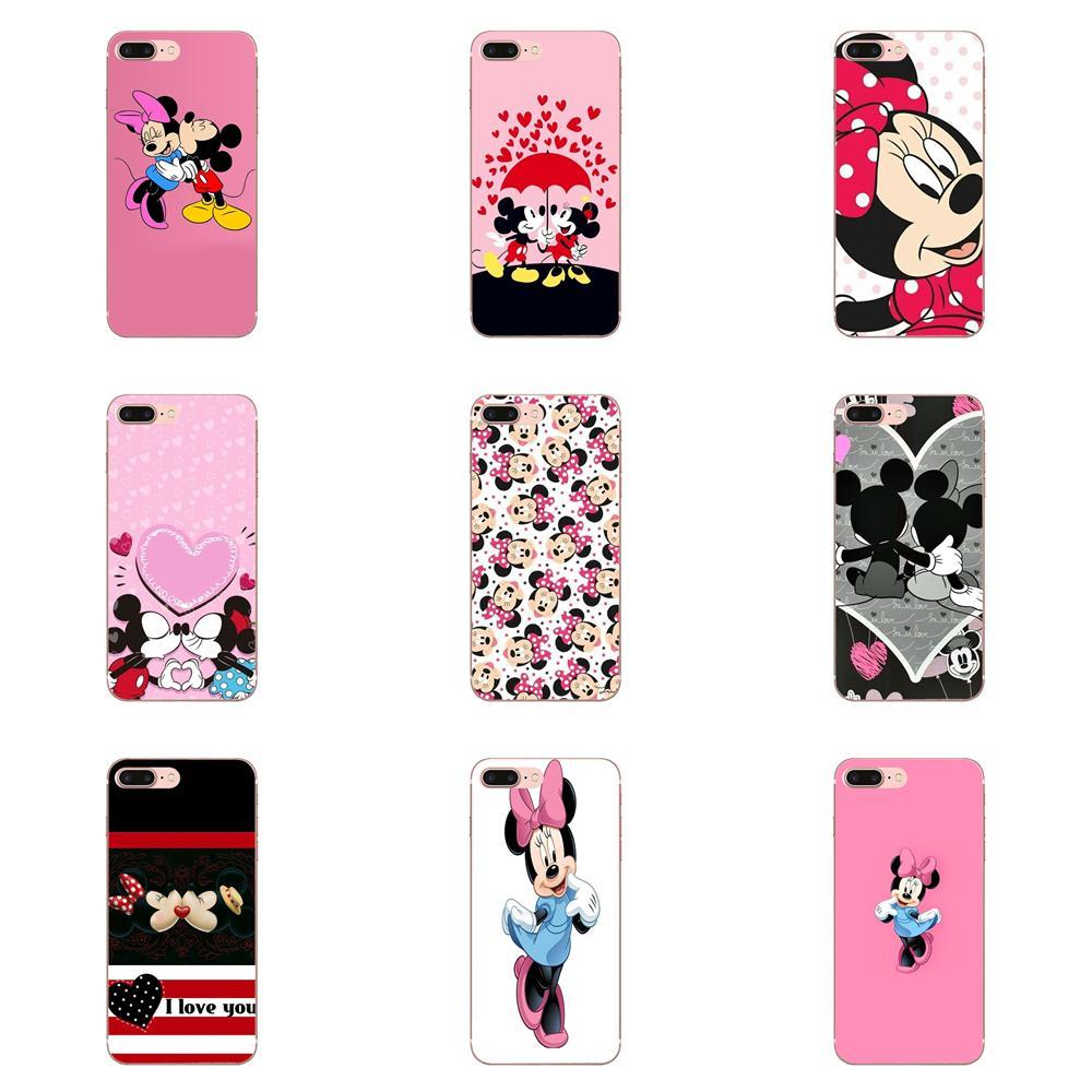 Phone Minnie Mouse For LG Nexus 5 5X G2 G3 Mini Spirit G4 G5 G6 K4 K7 K8 K10 2017 V10 V20 V30 Stylus Coque Shell