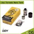 100% Оригинал IJOY Tornado Nano RTA Бак 4 мл 0.3ohm Чип Катушки RTA Распылитель с 18.6 мм Два Поста Палубе