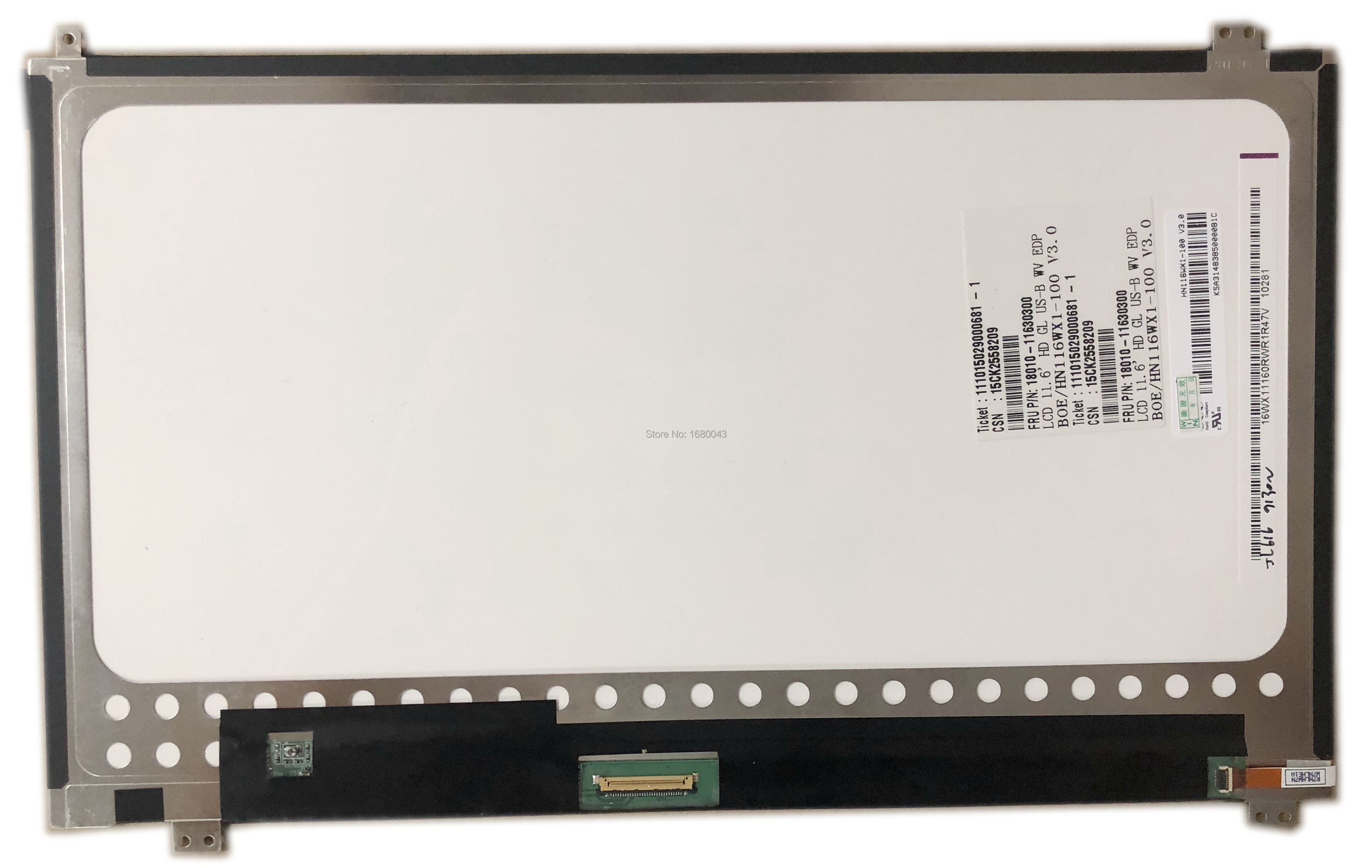 HN116WX1-100 V3.0 Fit M116NWR4 R0 IPS LED LCD Screen Panel 30PIN EDP 11.6 Inch For Asus Transformer Book T200TA