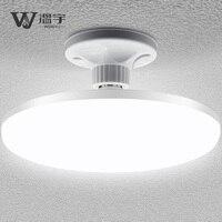Светодиодный супер яркий высокомощный НЛО лампа E27 винт потолочный светильник заводское освещение цехов бытовая электрическая энергосбер...