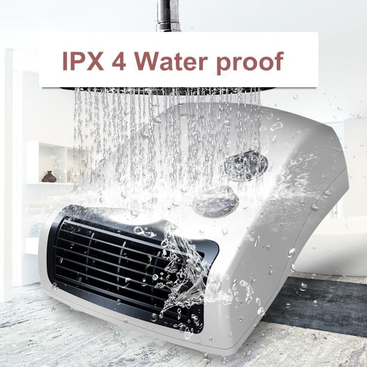 3 Gear Household Mini Heater Bathroom Ipx4 Waterproof Wall
