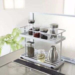 Японская многослойная приправа для кухни, ванной комнаты, настенная стойка для хранения WF716933