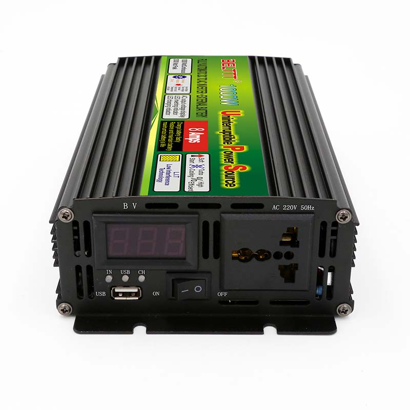 цена на 500w 1000w 1500w 2000w 2500w 3000w ups 12v 220v power inverter 1kva inverter with charger