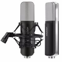 Yanmai SF 911B USB 2.0 Professional Condenser Sound Recording Microphone with Base Holder, Cable Length: 1.5m
