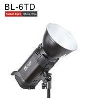Falcon Eyes LED Studio Fill Light 60W Bi color 3000K 8000K Adjustable Photo Lighting With Bowen Bayonet & Reflector & Handle