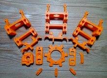 Horizon Elephant 3d printer kit Reprap kossel Rostock Mini Pro Plastic Printed Parts Kit/Set ABS material for DIY 3d printer