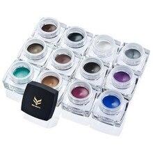 Lapis de olho Marca Delineador Maquillage Gel Eye Liner Delineador Gel Maquiagem Cosméticos de Longa duração À Prova D' Água lapiz de ojos